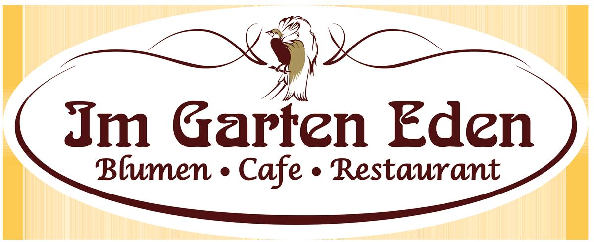 Cafe und Blumen Im Garten Eden